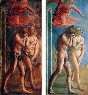 Wygnanie z raju   Masaccio