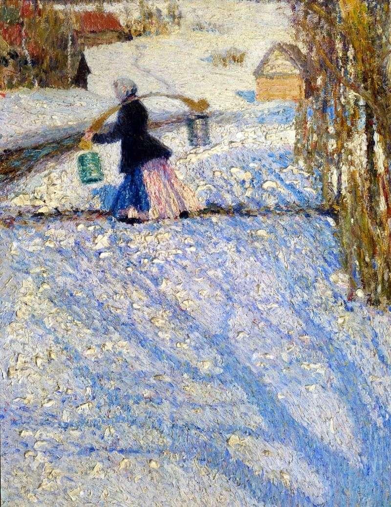 Marcowy śnieg   Igor Grabar