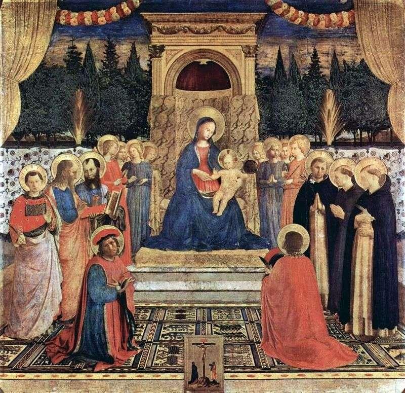 Ołtarz San Marco   Fra Beato Angelico