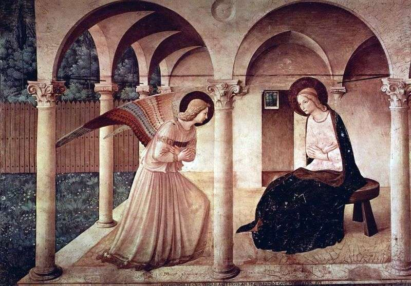 Zwiastowanie   Fra Beato Angelico