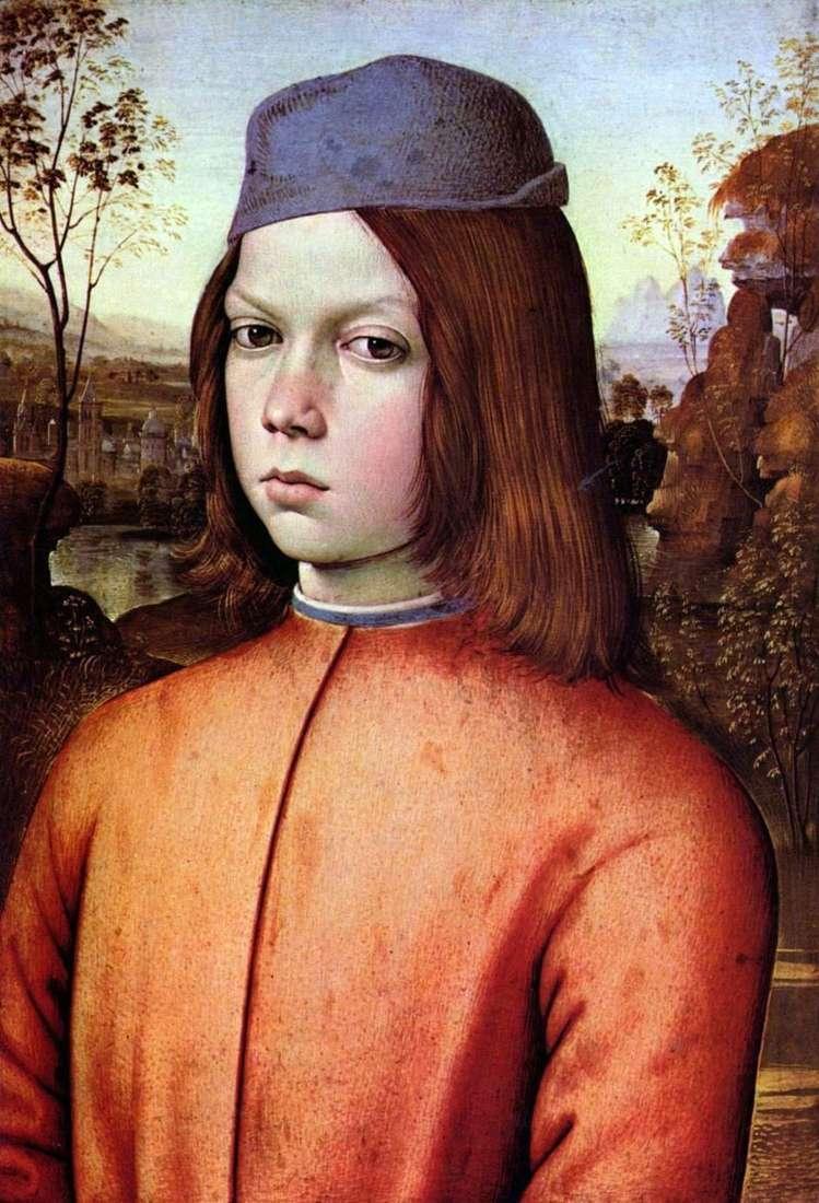 Portret chłopca   Pinturicchio