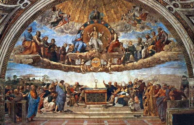 Sporów (fresco)   Rafael Santi