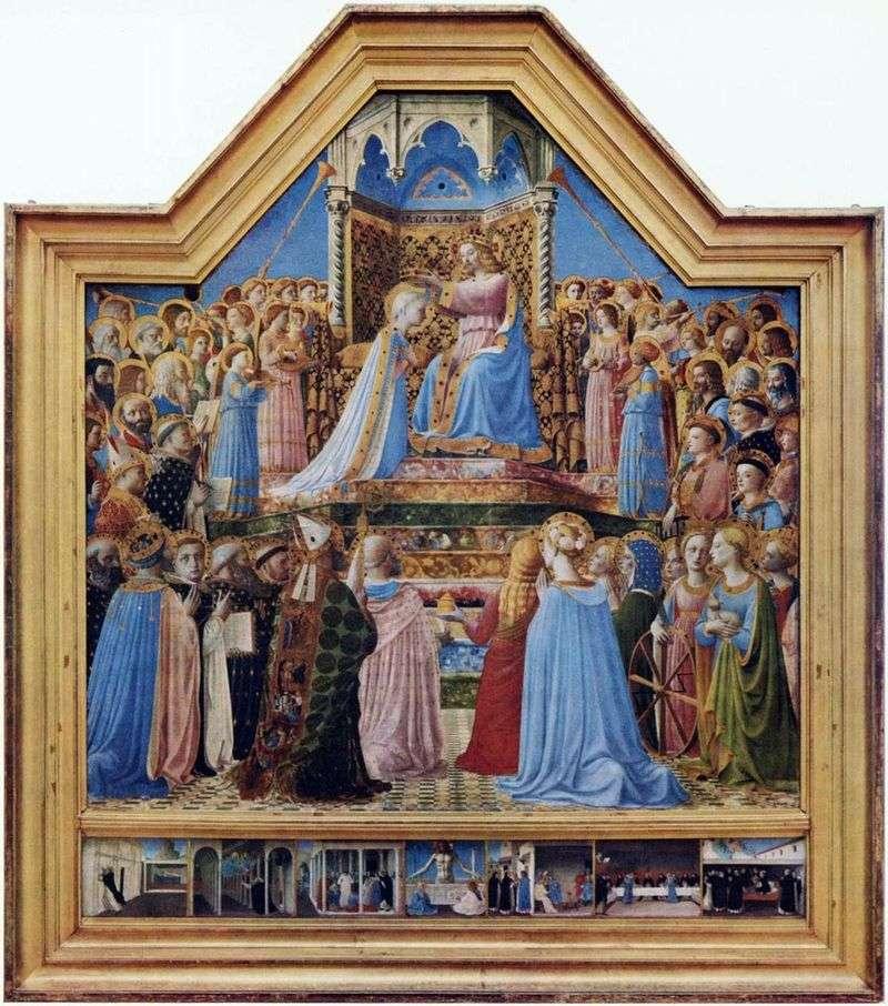 Koronacja Marii Panny   Fra Beato Angelico