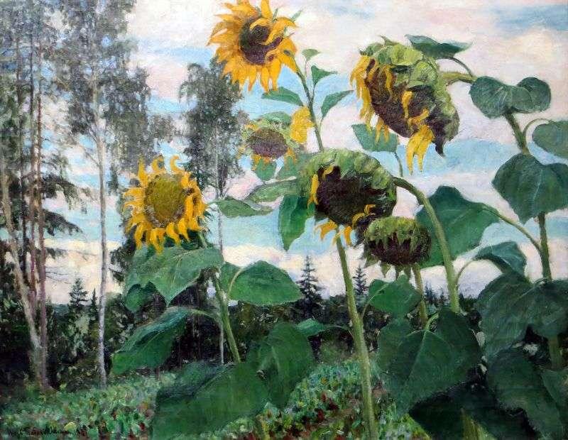 Słoneczniki   Igor Grabar