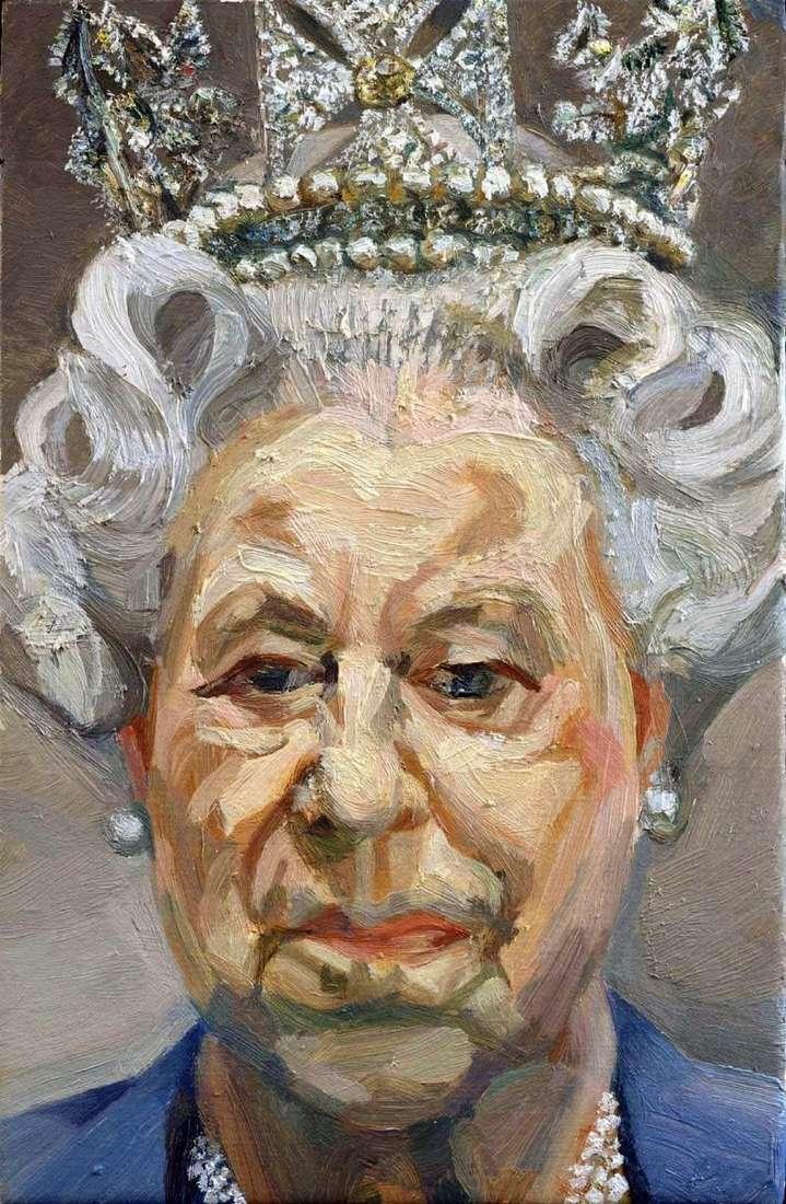 Królowa Elżbieta II   Lucien Freud