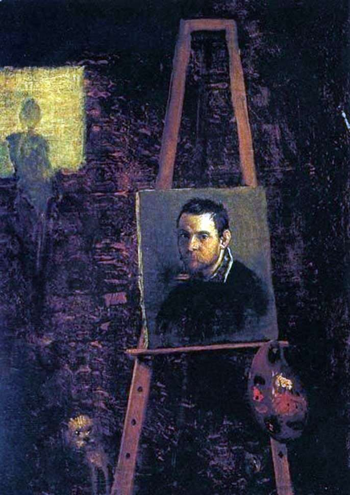 Portret   Annibale Carracci