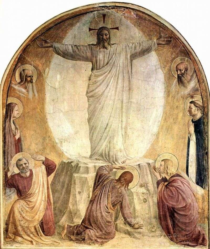 Przemienienie Pańskie   Fra Beato Angelico