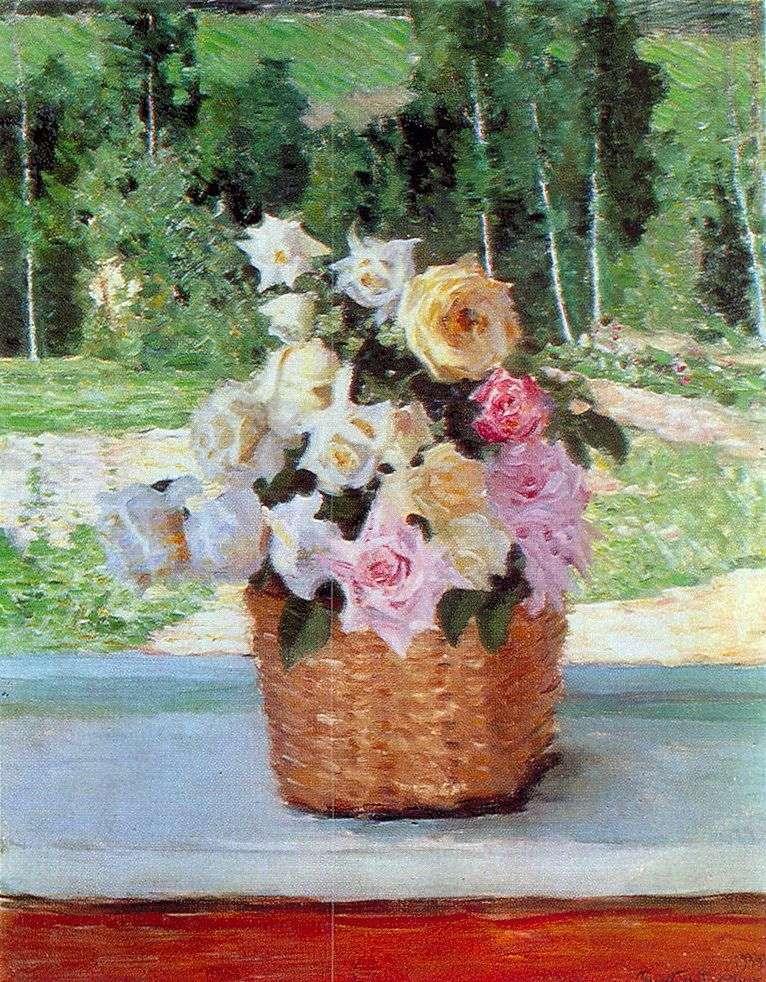 Róże w oknie   Igor Grabar