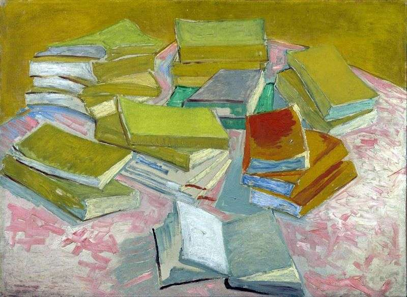 Still Life: French Novels   Vincent Van Gogh