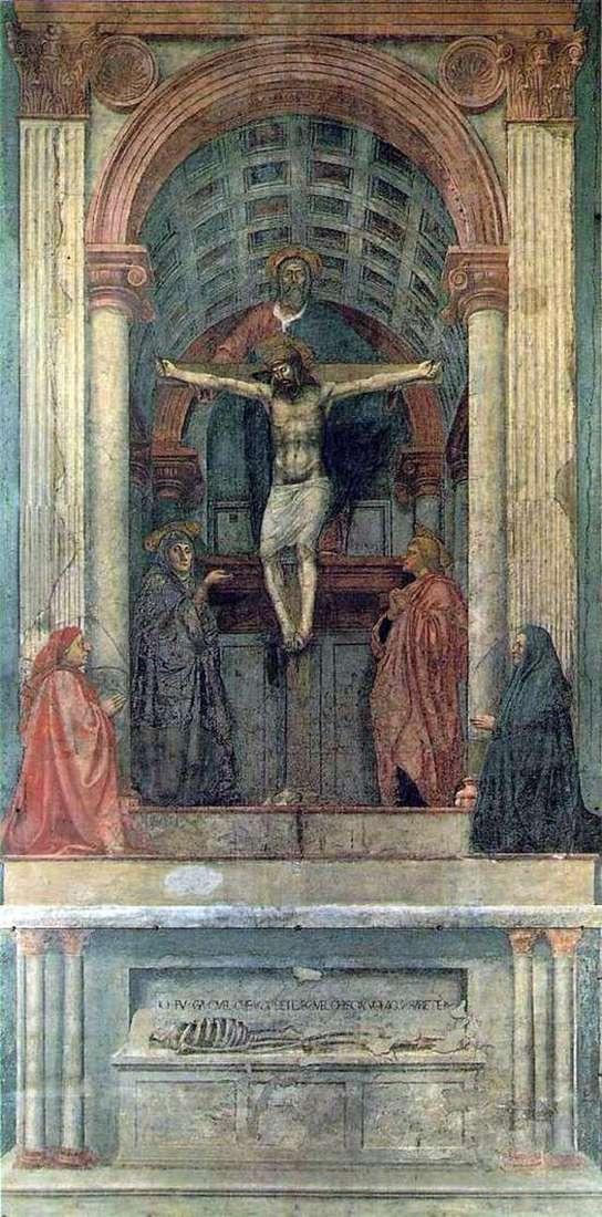 Trinity   Masaccio