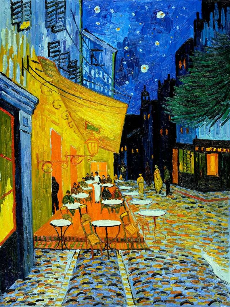 Nocna kawiarnia na tarasie   Vincent Van Gogh