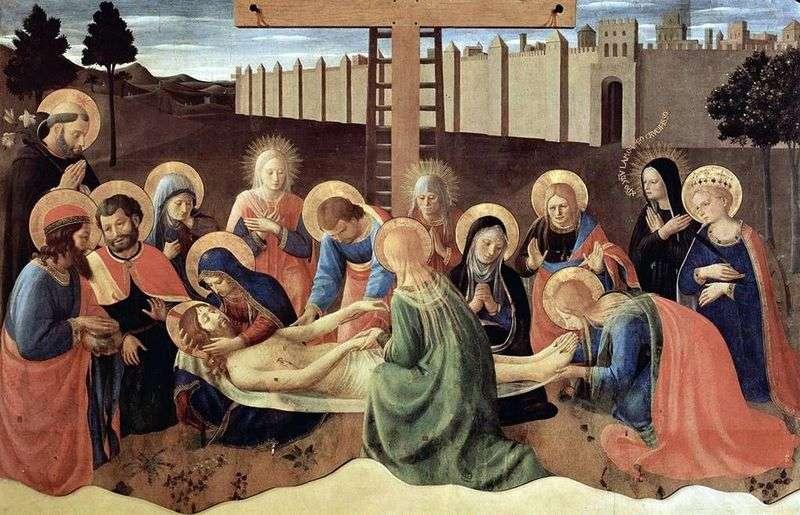 Zejście z krzyża   Fra Beato Angelico