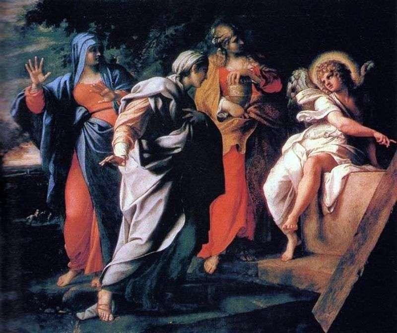 Trzy Marysy przy Grobie Świętym   Annibale Carracci