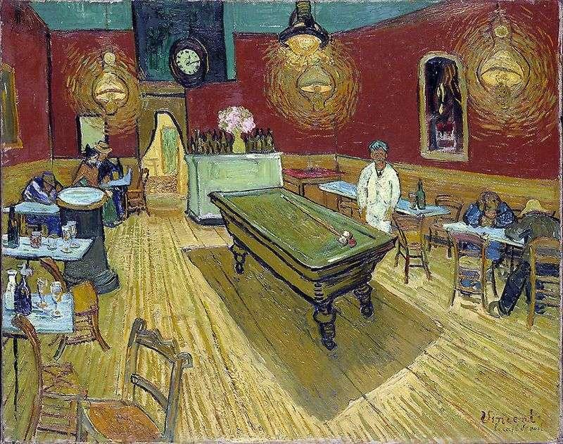 Nocna kawiarnia na placu Lamartine w Arles   Vincent Van Gogh