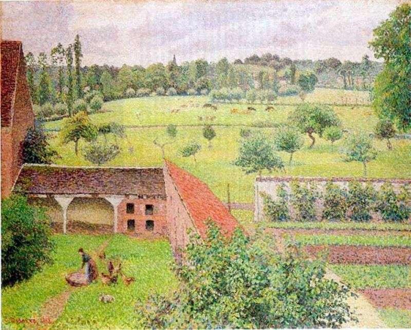 Widok z mojego okna   Camille Pissarro
