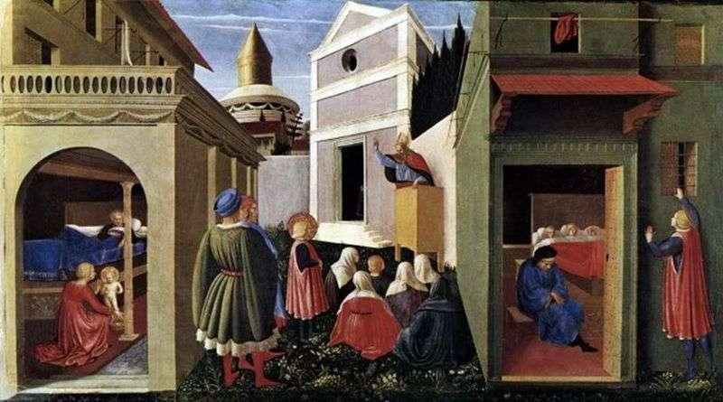 Sceny z życia św. Mikołaja   Fra Beato Angelico