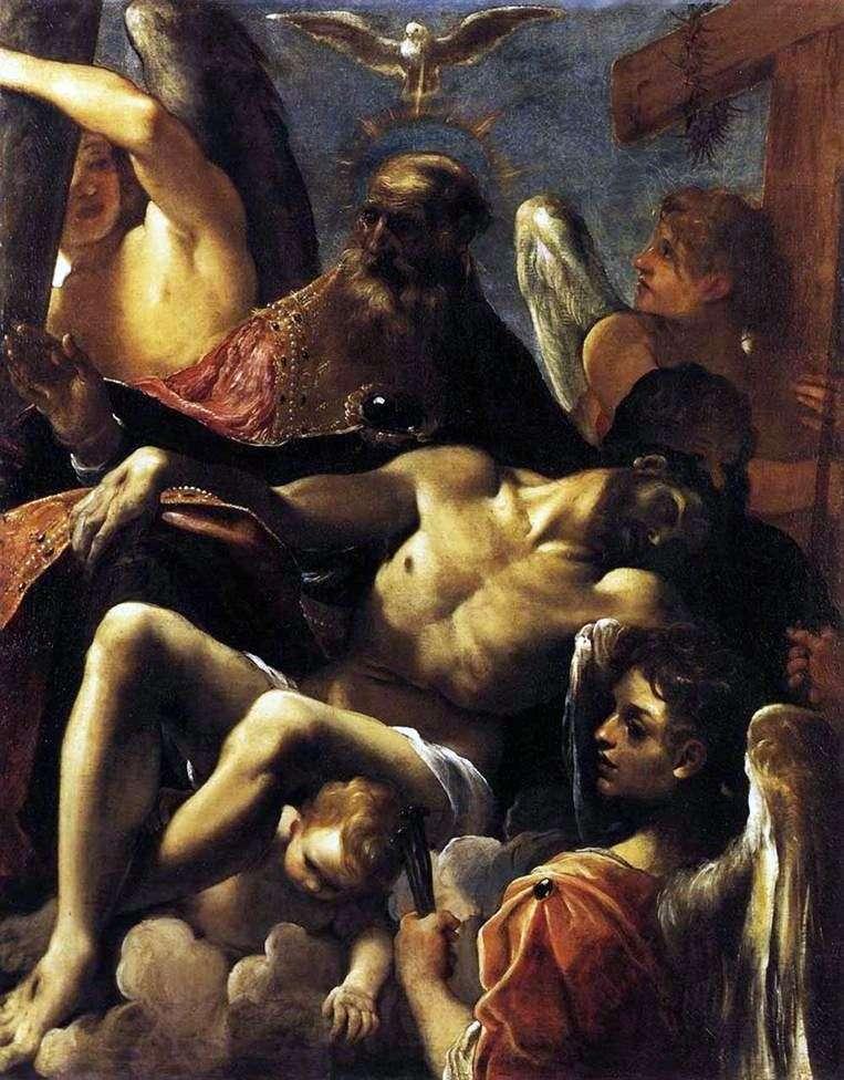 Trójca i śmierć Chrystusa   Ludovico Carracci