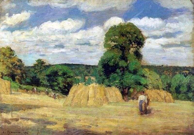 Zbiorów w pobliżu Montfuco   Camille Pissarro