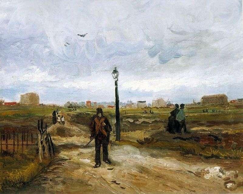 Obrzeża Paryża   Vincent Van Gogh