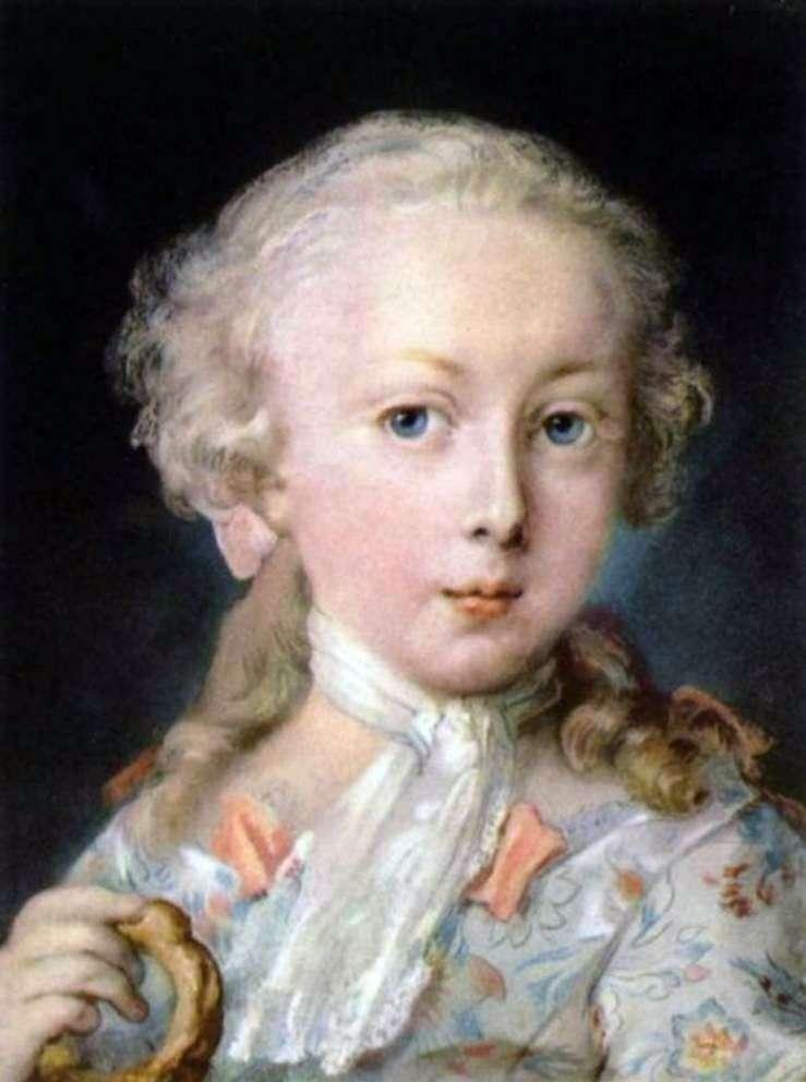 Portret dziecka z rodziny Le Blon   Rosalba Carriera