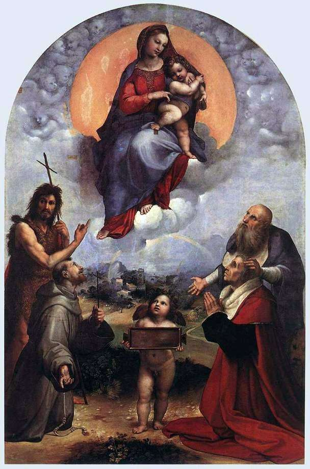 Madonna de Foligno   Rafael Santi