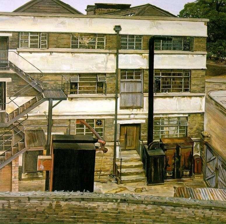 Fabryka w Londynie   Lucien Freud