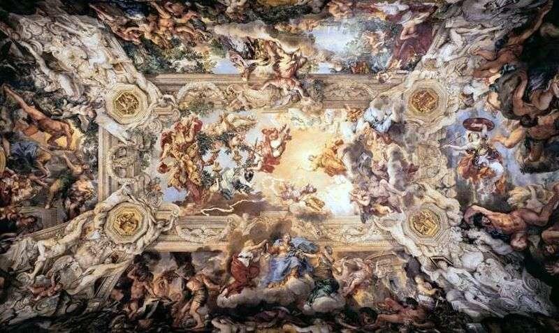 Alegoria Boskiej Opatrzności   Pietre da Corton