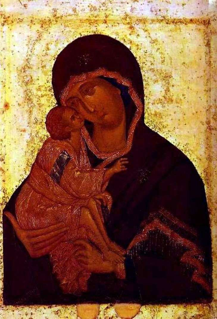 Don Icon of the Mother of God   Theophanes the Greek