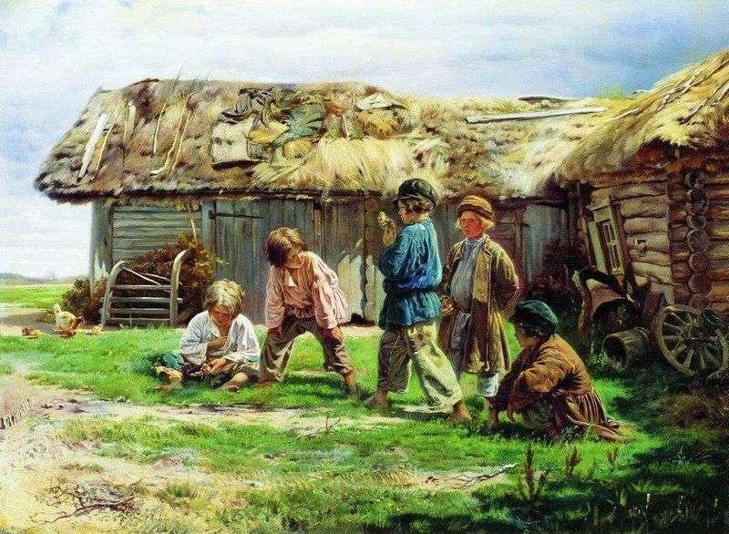 Gra babci   Vladimir Makovsky