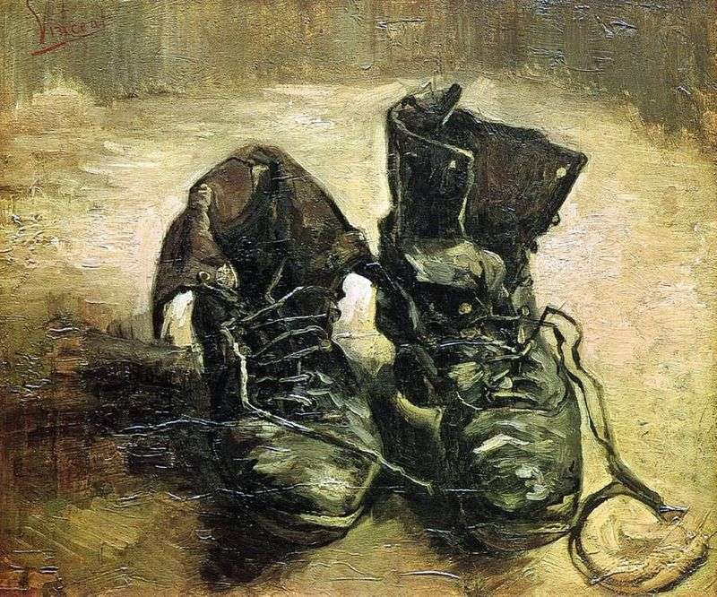 Para butów II   Vincent Van Gogh