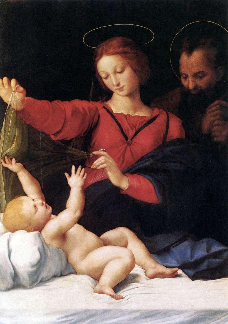 Madonna Loreta lub Madonna del Velo   Rafael Santi