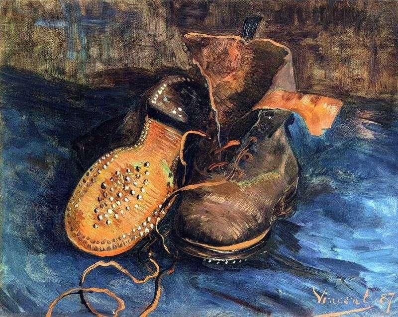 Para butów (obuwia)   Vincent Van Gogh