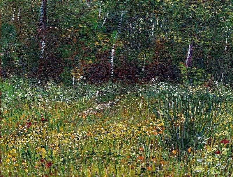 Park w Anyer na wiosnę   Vincent Van Gogh