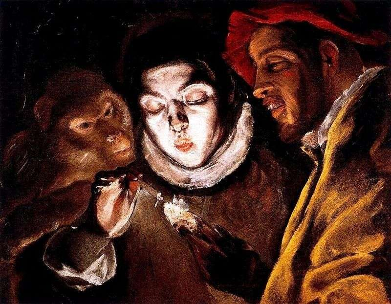 Alegoria hiszpańskiego przysłowia   El Greco