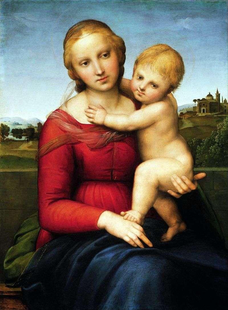 Madonna z Dzieciątkiem   Rafael Santi