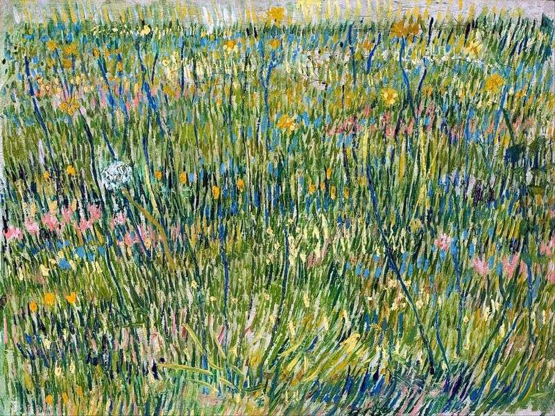 Pastures in Bloom   Vincent Van Gogh