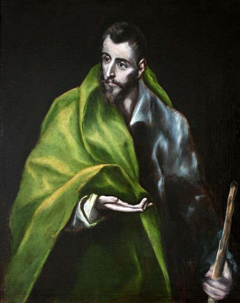 Apostoł Jakub Zebedeusz   El Greco