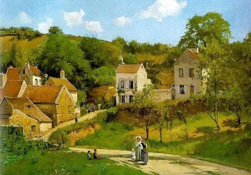 Ermitaż w Pontoise   Camille Pissarro