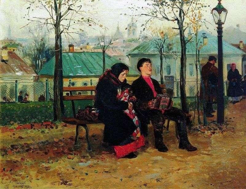 Na bulwarze   Vladimir Makovsky