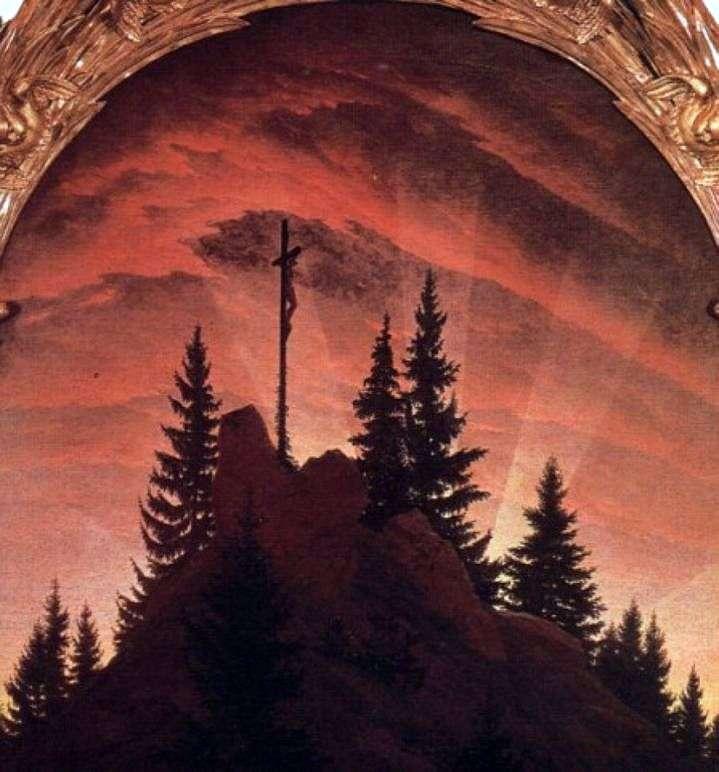 Krzyż w górach   Caspar David Friedrich