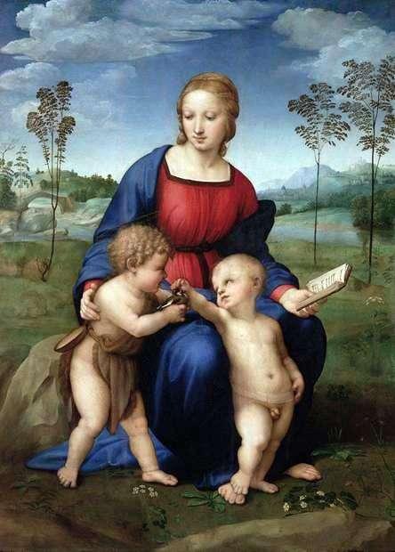 Madonna z przebiśniegiem   Rafael Santi