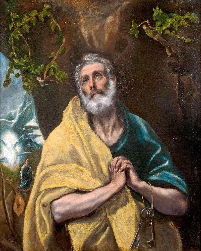 Apostoł Piotr   El Greco