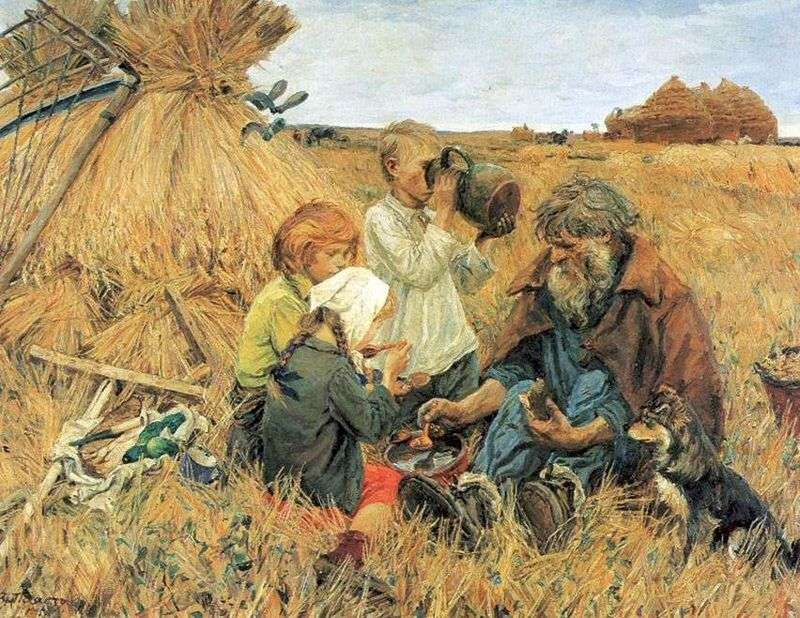Żniwa   Arkady Plastov