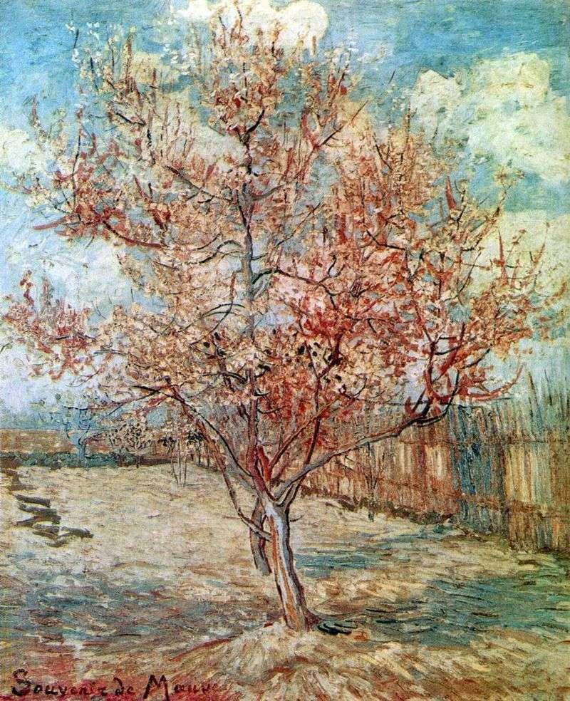 Peach Blossom   Vincent Van Gogh