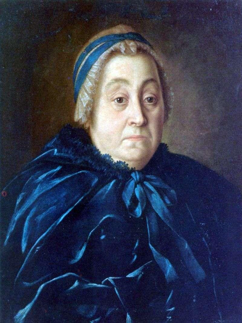 Portret Anny Wasiljewnej Buturlina   Aleksiej Antropow