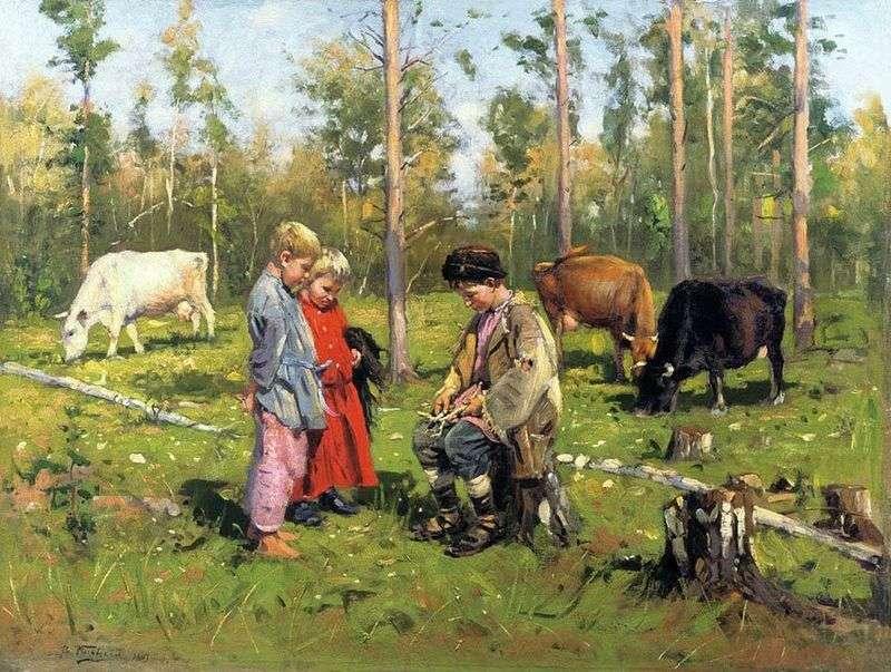 Cowgirls   Vladimir Makovsky
