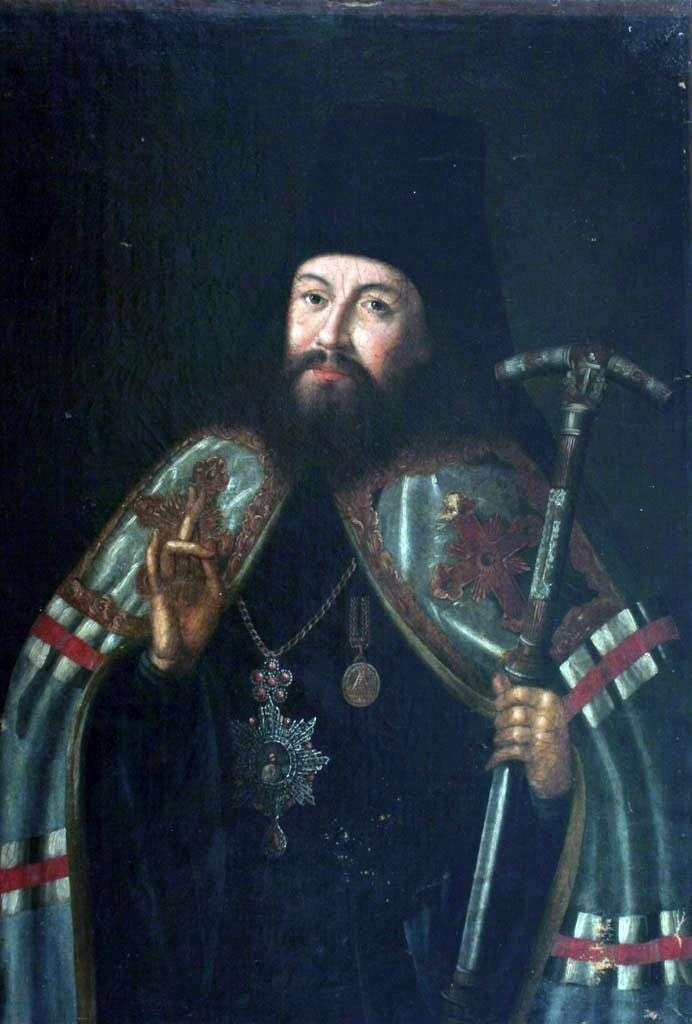 Portret arcybiskupa Gabriela Petrowa   Aleksieja Antropowa