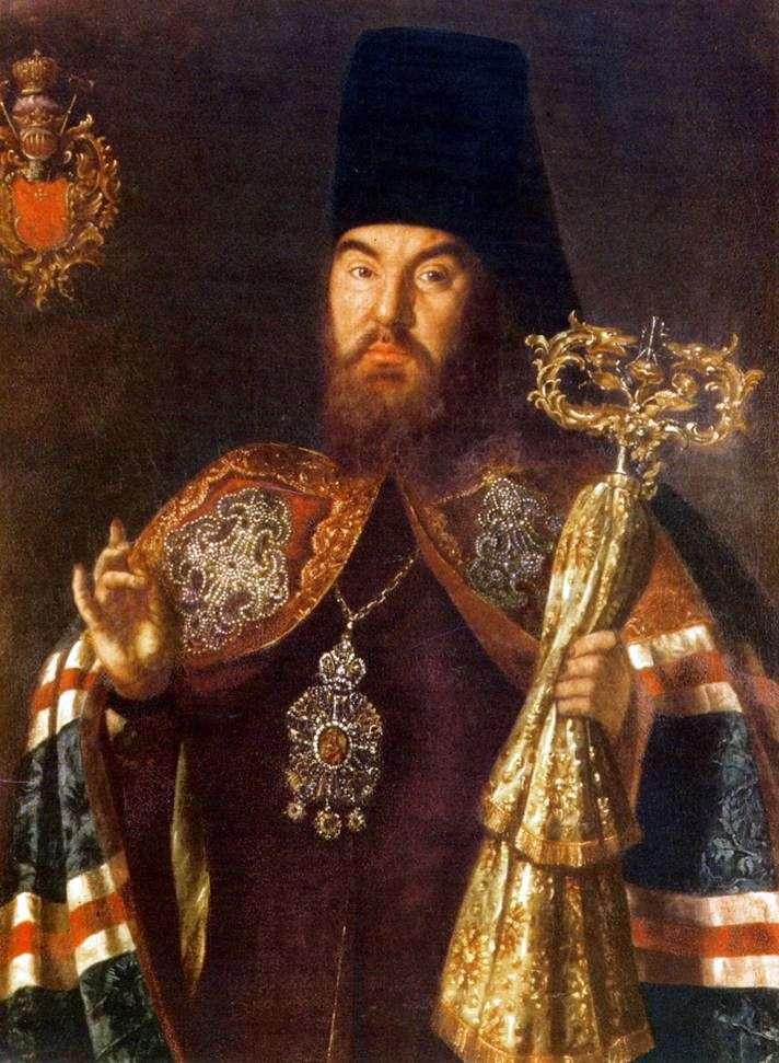 Portret arcybiskupa S. Kulyabki   Aleksiej Antropow