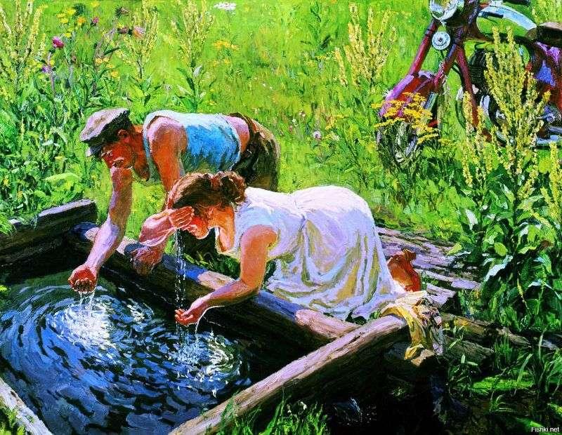 Wiosna   Arkady Plastov