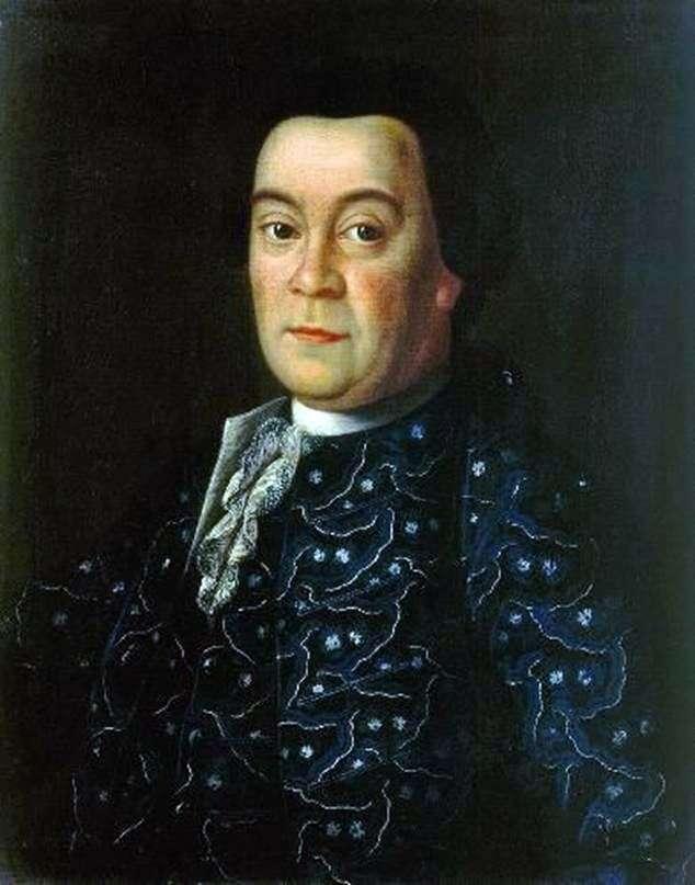 Portret D. I. Buturlina   Aleksieja Antropowa